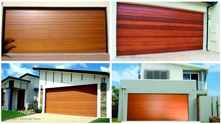 Steel-Line garage doors combine the look and feel of genuine timber with the strength and security of steel. The result is a range of sectional doors which gives your home the stylish look of timber doors without the price tag and extensive maintenance requirement.