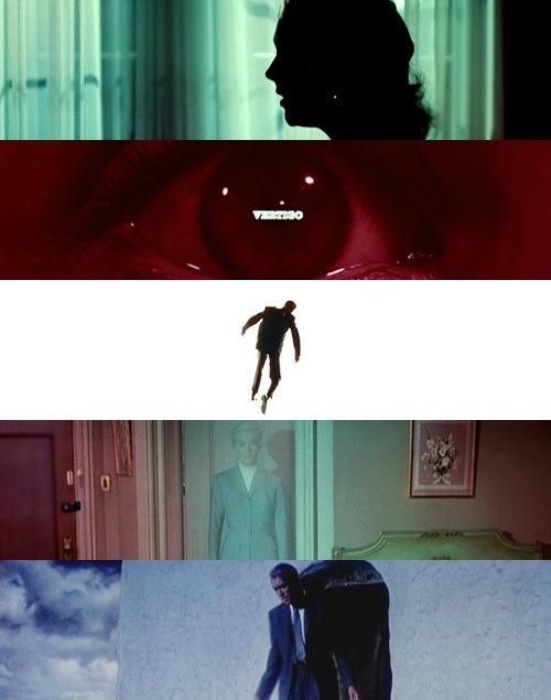 Vertigo - Kim Novak, Jimmy Stewart. Hitchcock classic