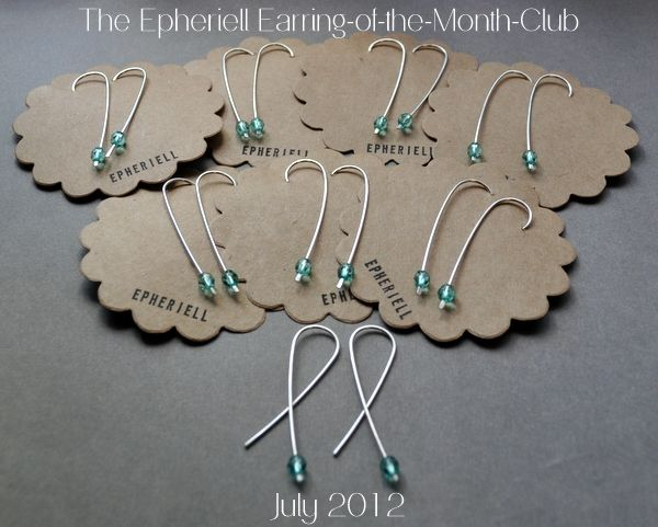 Epheriell Earring-of-the-Month-Club ~ July 2012 Design