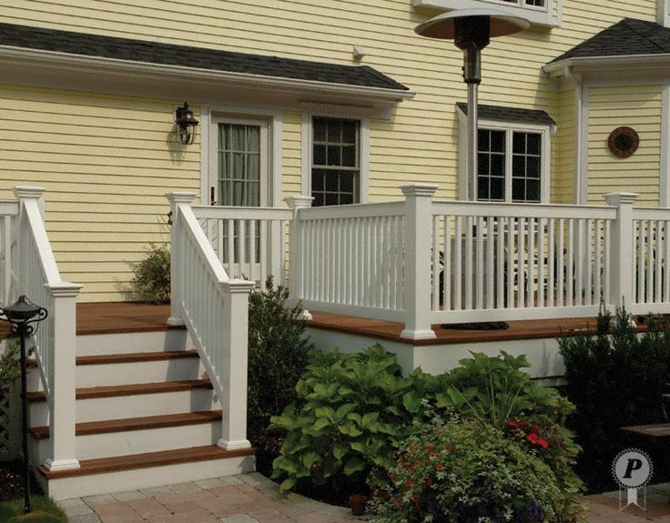 porch railings simply chic greenwich deck rails accent the deck and stairway the - Porch Railing
