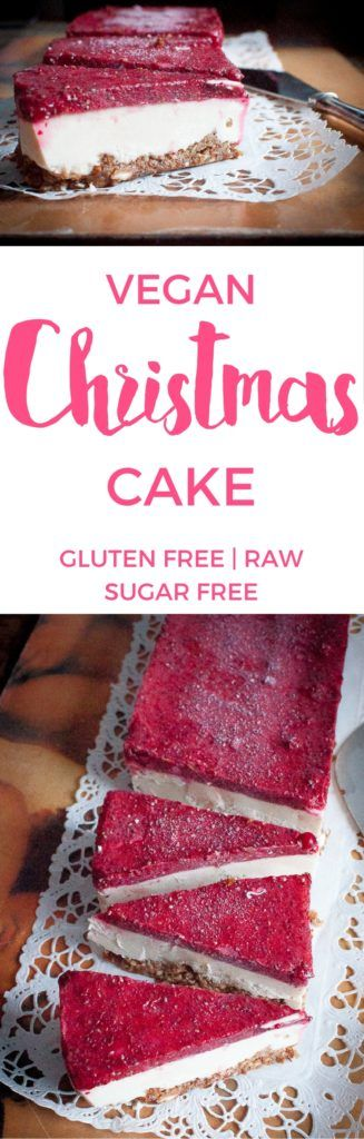 Vegan Christmas Cake | Use coupon code 'Pinterest10' to get 10% off CUTEA Teas at www.getcutea.com