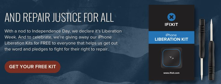 Score a FREE iPhone Liberation Kit. Just visit the link provided, fill out the info and share if via Facebook or Twitter. Allow 2 weeks for delivery.  What's a Liberation Kit? Take a quick look at …