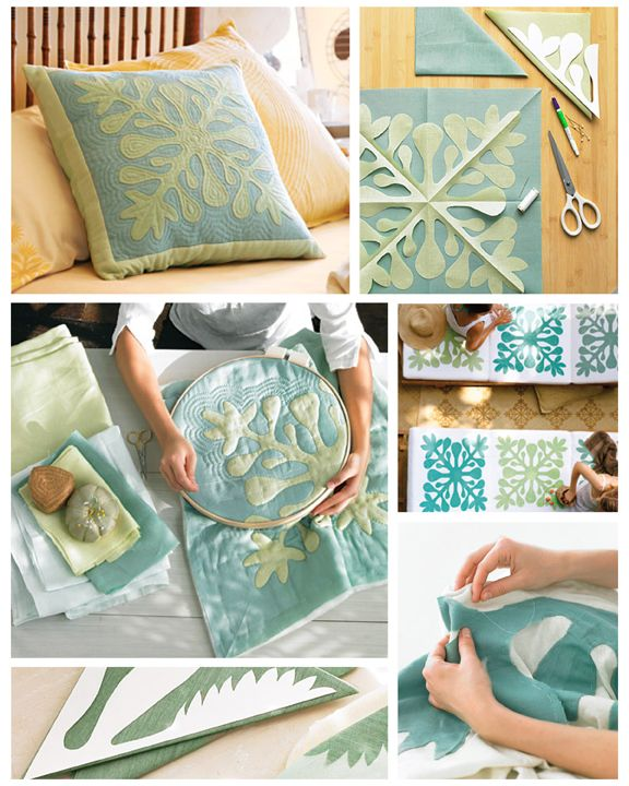 hawaiian quilting - - Brown Paper Packages ... Hawaii is one of our favourite places...gotta make this