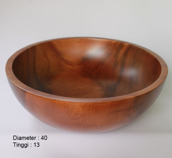 Foot spa bowl / Rendam Kaki Kayu