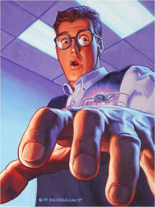 Peter Parker by Hildebrandt