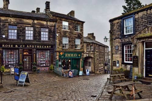 Exploring the cobbled streets of Haworth, a pretty little English village that clings to the edge of the West Yorkshire moors, and the landscape beyond. Welcome to Bronte Country.