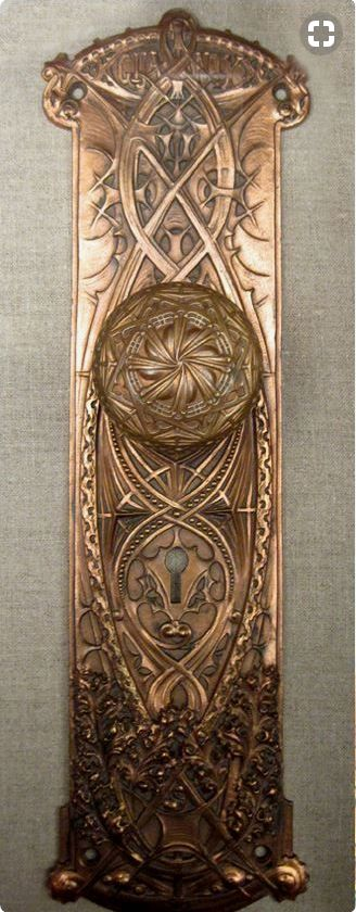 Doorknob from Chicago building