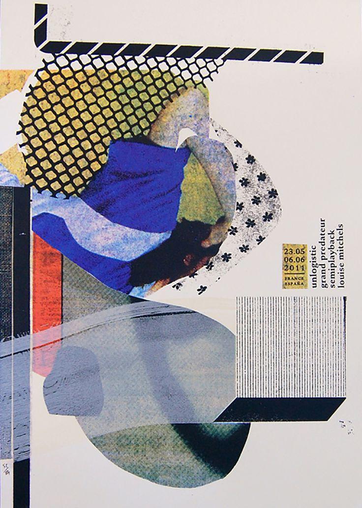 Parallelamente a Palefroi, progetto d'arte e studio di serigrafia con sede a Berlino e gestito insieme a Marion Jdanoff, Damien Tran progetta manifesti che vi proponiamo in questa piccola galleria. Un breve viaggio tra collages e stampa serigrafica.