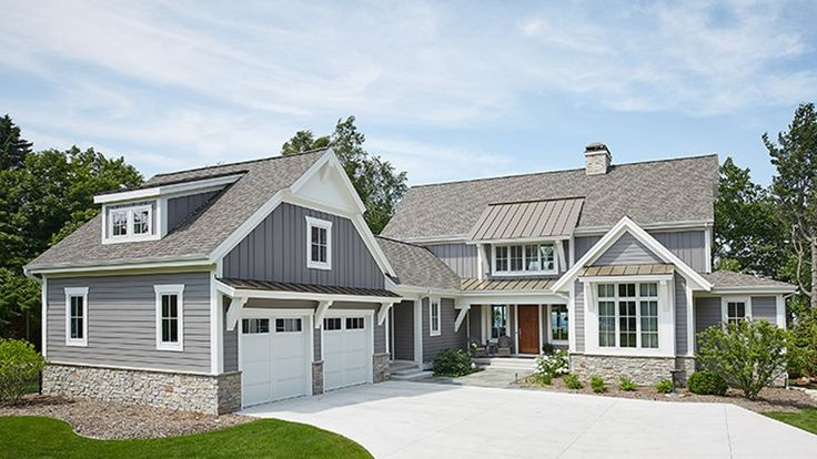 25 best ideas about 2 story homes on pinterest big for Modern farmhouse design