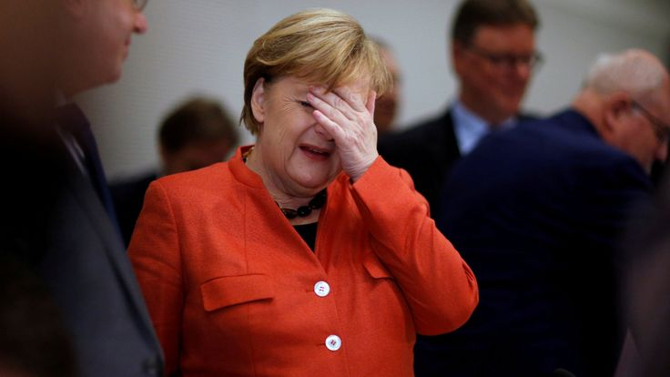 Merkel gibt Schmidt Schuld am Glyphosat-Eklat - GroKo-Zoff - Politik Inland - Bild.de