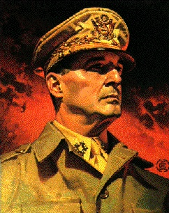 Famous Wisconsin   ~   General Douglas MacArthur  1880 - 1964  -     Douglas MacArthur was a brilliant, controversial, aloof,   egotistical, imperious, courageous, highly intelligent   five-star U.S. Army General.  His father, Arthur McArthur, was the fourth governor of Wisconsin.