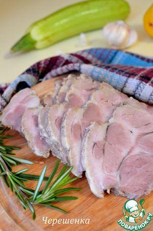 Свинина, тушеная в рукаве в мультиварке