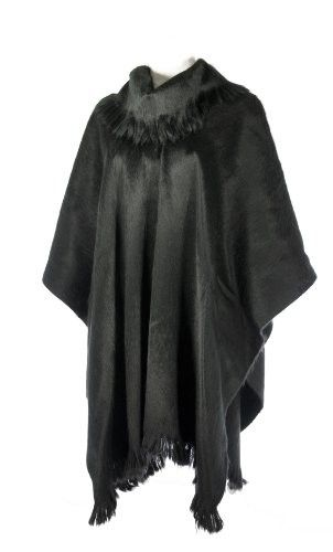 Shupaca Pullover Shawl - Black