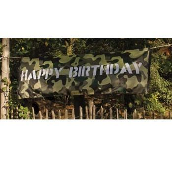 camouflage party | Leger Camouflage Kinderfeest bij Happy Party Feestwinkel