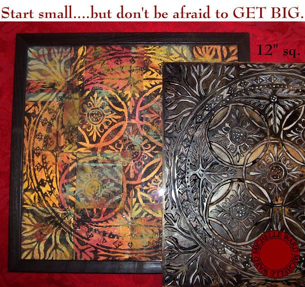 Wonderful relief printmaking techniques and illustrated steps by artist, Michelle Ward