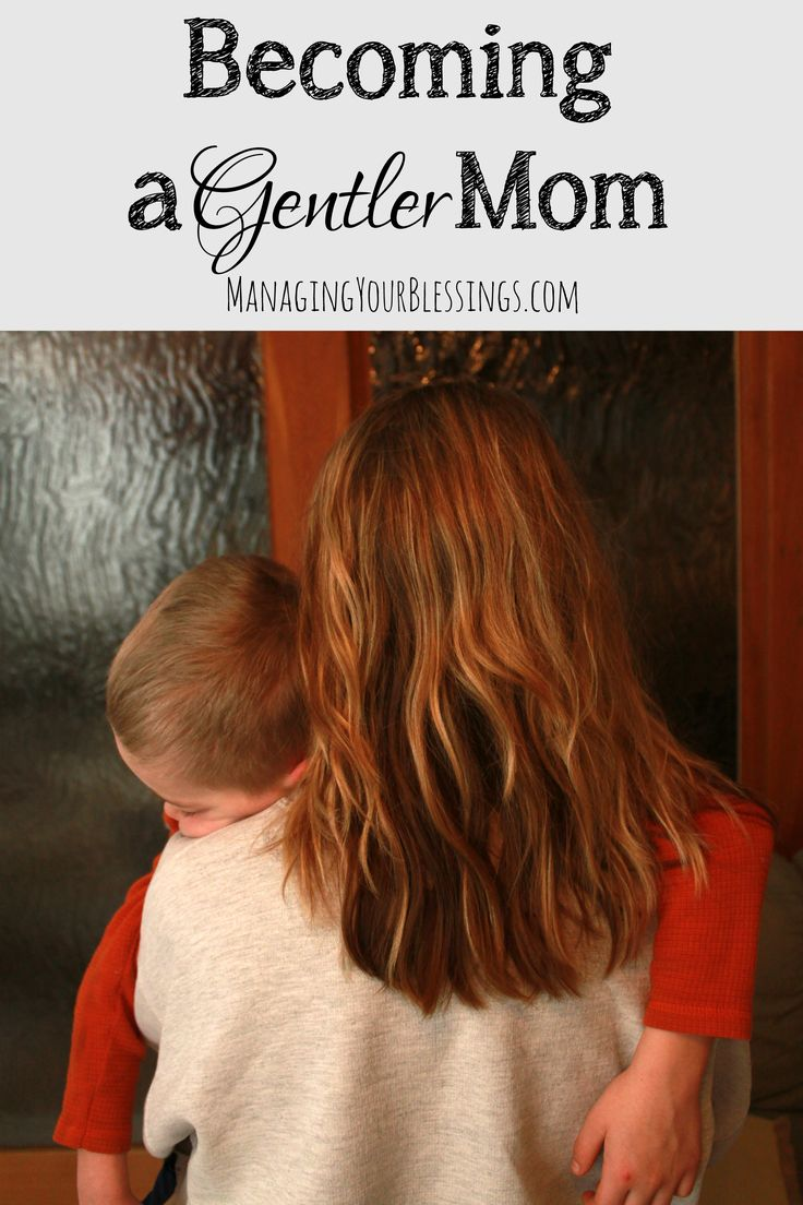 Blog post at Managing Your Blessings : I'm becoming a gentler mom.  I was spanked as a kid. I grew up in an authoritarian home. I feared everything. When I became a parent, [..]