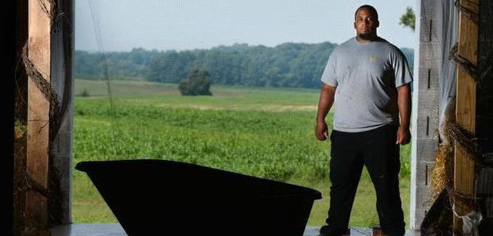 NFL Star Quits Football To Build Free Farm And Feed Hungry People