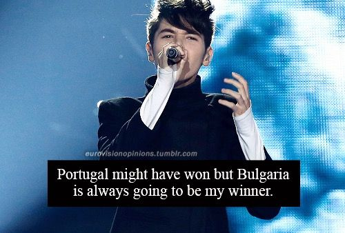 Bulgaria deserved to win. Kristian Kostov is so talented and gave us a powerful performance with a deep song. No matter what they say or do, he's the real winner in everyone's hearts.