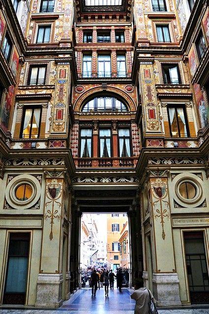 Arcade - Rome, Italy, by naromeel Italiano. Cursos de idiomas en el Exterior…