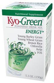 Kyo-Green Drink Mix by Wakunaga of America Company - Buy Kyo-Green Drink Mix 5.3 Powder at the Vitamin Shoppe
