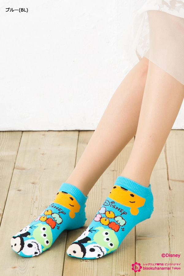 Disney socks  プー・グリンメン・オラフ・ミッキー・ジャック柄