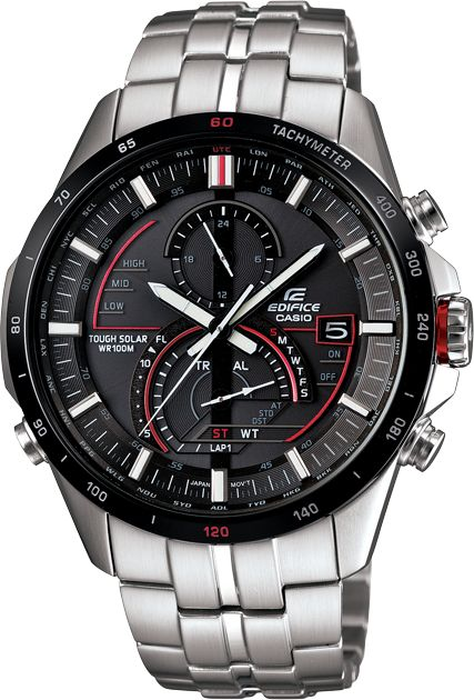 EDIFICE EQSA500DB-1A, The EQSA500B-1A offers advanced functionality in addition to style and comfort. Its Smart Access Technology permits easier, more intuitive operation of multiple watch functions.