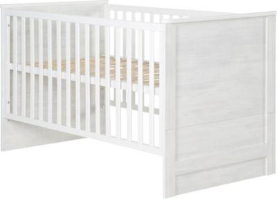 New roba Kombi Kinderbett Sarah wei Struktur inkl Umbauseiten Jetzt bestellen unter