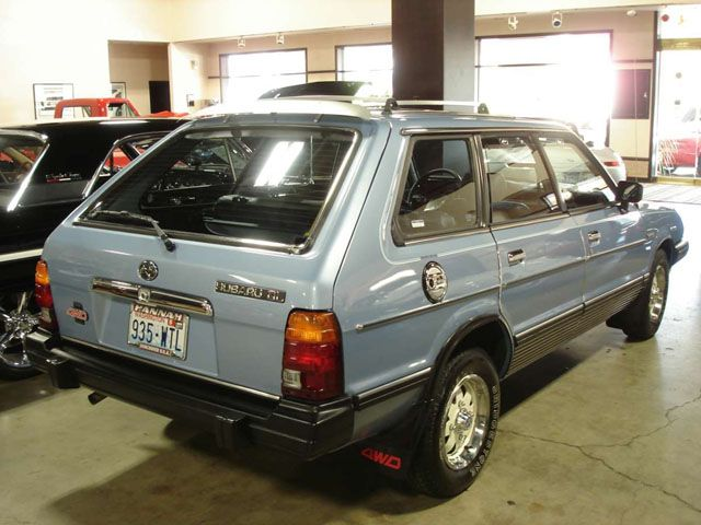 subaru gl 1984 | are (2) Comments for the 9,431 Miles from New: 1983 Subaru GL 4×4