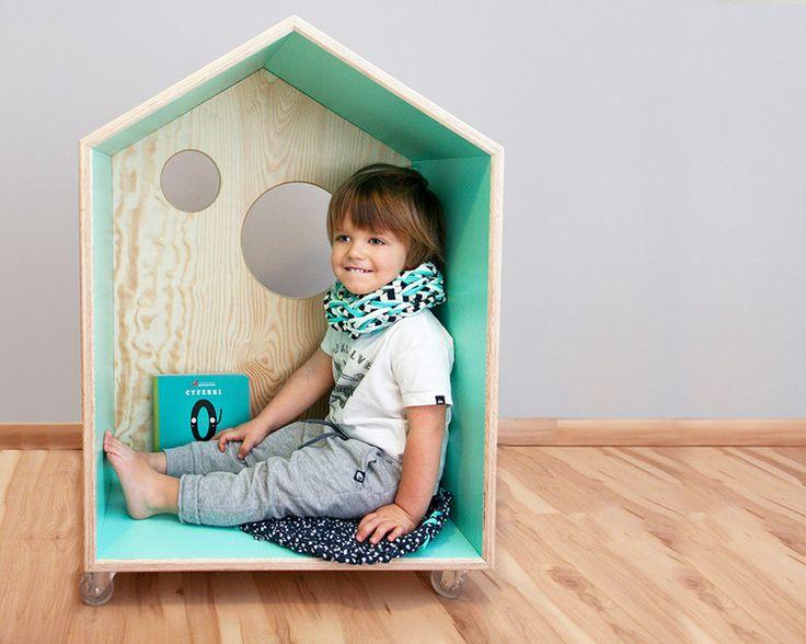 DOMO – domek dla dzieci na kółkach - SznurWior - Meble dziecięce