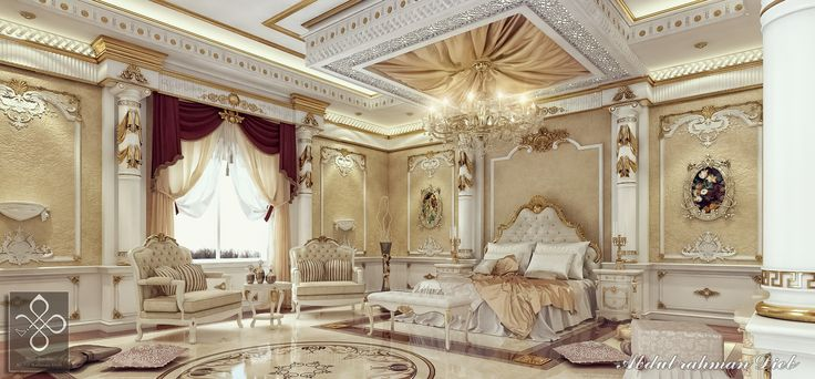Royal Bedroom 3d Interiors Pinterest Search Royal