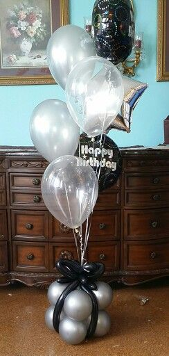 Birthday balloon bouquet @nycballoonsquad