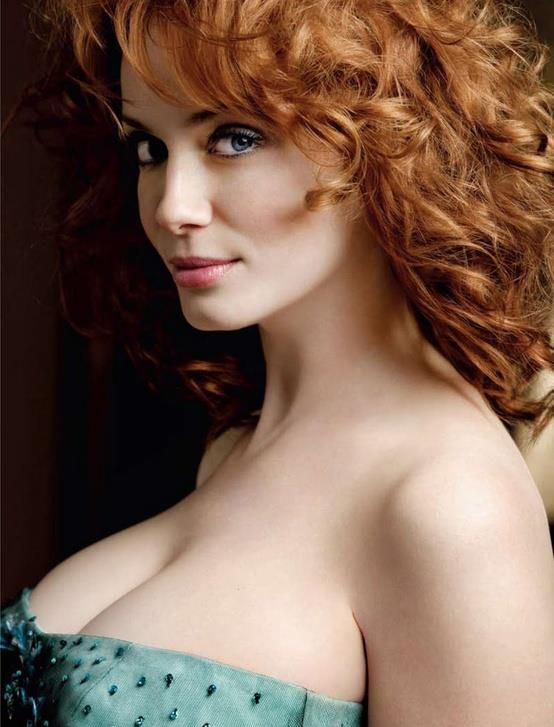 Christina Hendricks, the epitome of siren.