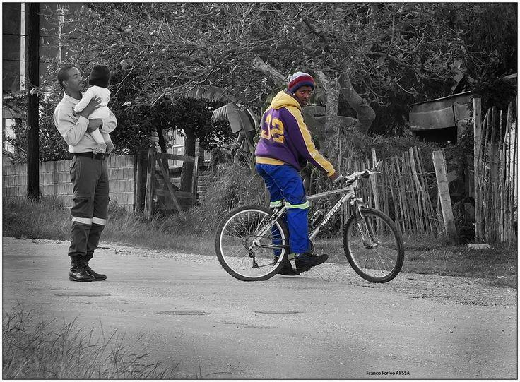 Township street scene, Eastern Cape'15