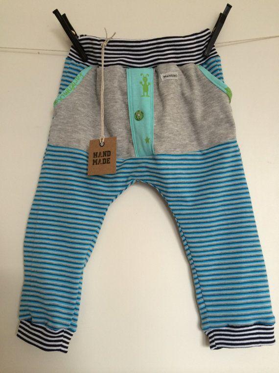 Pocket pants  stripes MaHERO by MaHEROsydney on Etsy