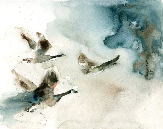 This is a print from my original watercolor of a flock bird of canada geese. -Printed on Epson Print on Archival matte Epson Paper 51lb (192gr) -11x14inch -No Frame included. The print is signed by the artist:Irene Diamente Artist retains all reproduction rights and copyrights The print will be send you in a plastic rigid support Feel free to convo us if you have any questions! Thank you so much for visting our shop! Ferdinando e Irene :)