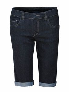 Damen, Modest, Stretch-Denim, Bermudashorts in Schwarz – Freizeitkleidung – …   – Shorts