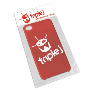 triple j iPhone Cover - Red. triple j Silicon iPhonecase, 6cm x 11cm $14.99
