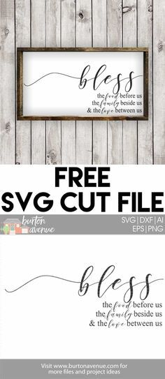 Free Thanksgiving SVG files for Cricut & Silhouette