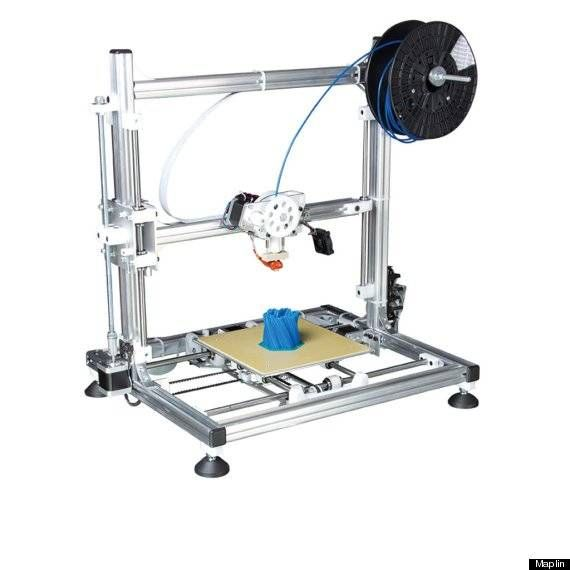 UK's first commercial 3D printer on sale in Maplin for £699.99