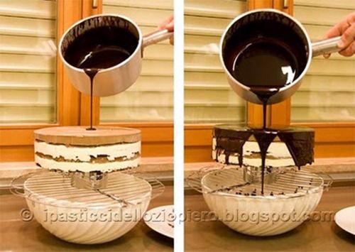 Questa Glassa è molto utile per ricoprire qualsiasi tipo di torta al cioccolato, sia essa da forno (es Sacher) o cremosa (es. Sette Veli). E' anche utile per ricoprire delle tortine (come ad …