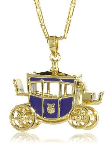 Disney Couture Cinderella's Coach Pendant Necklace