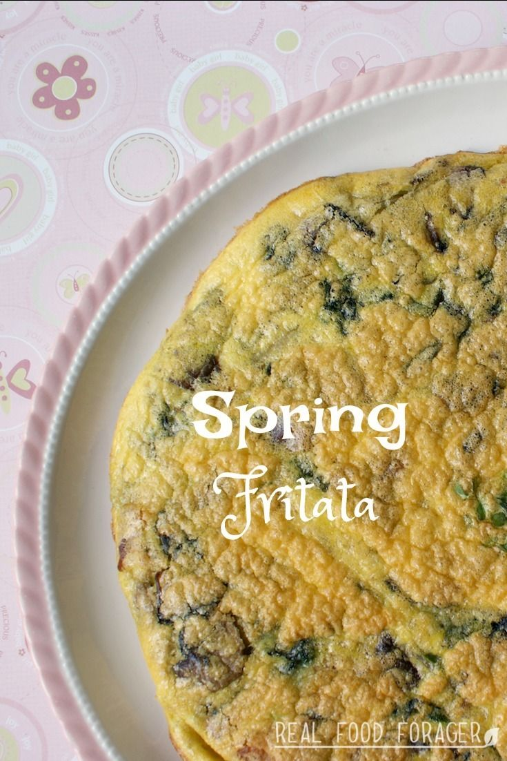 Spring Fritata. sky is the limit when it comes to variety. This Spring Fritata is made with the fresh vegetables of early spring!