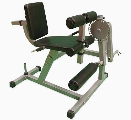 Pro Heavy Duty Seated Leg Curl & Extension Machine by XS Sports Review by Garage Gym