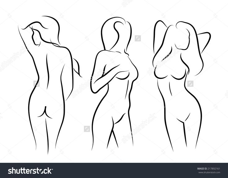 How To Draw Naked Wemon 13