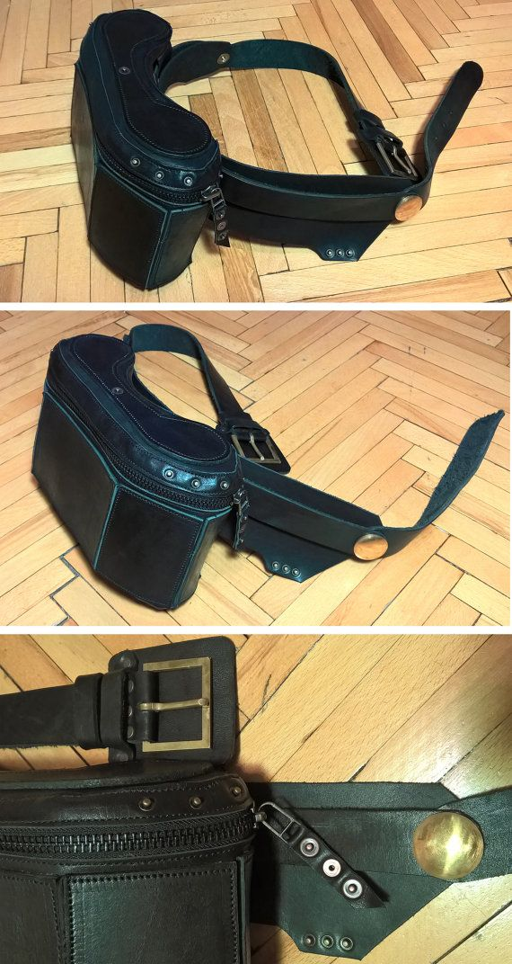 Betelgeuse 2.0 : Leather Waist Hip Holster Utility Belt Bag by astraequipment. Explore more products on http://astraequipment.etsy.com