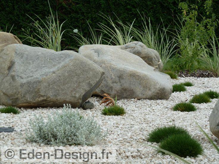 Les 25 meilleures id es de la cat gorie roches d for Realisation jardin zen