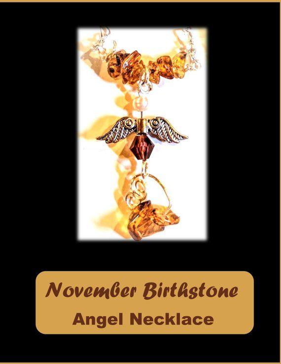 November birthstone jewelry - Topaz jewelry - Topaz - mothers gift