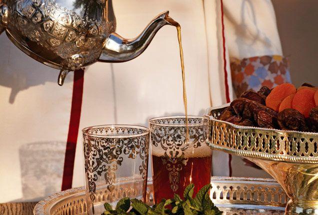 Mint tea ritual, Marrakech