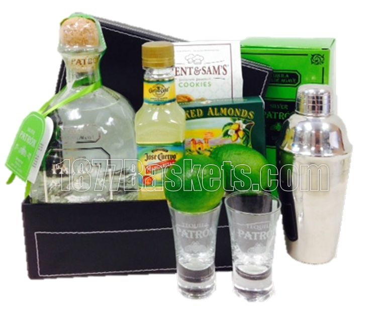 Lime All Yours Tequila Gift Basket, Patron Gift Basket, Patron Gift Baskets, Patron Basket, Patron Baskets, Tequila Gift Basket, Tequila Gift Baskets, Tequila Basket, Tequila Baskets