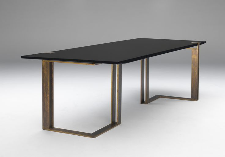 """Black and Gold Table"""